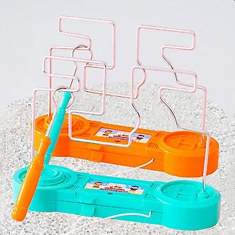 Electric Touch Maze Game Collision Electric Shock Toy Education Game Science Experiment Children's Toys