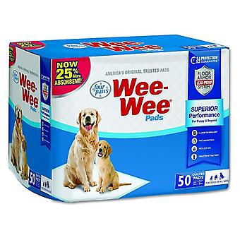 """Four Paws Wee Wee Pads Original - 50 Pack (22"""" Long x 23"""" Wide)"""