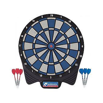 Unicorn Darts 79596 Non Electronic Soft Tip 8 Player Dartboard Darts Set