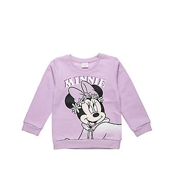 Alouette Girls' Disney Minnie Mouse Blouse With Glitter