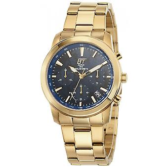ONE (Eco Tech Time) Gold Stainless Steel EGS-12075-31M Men's Watch