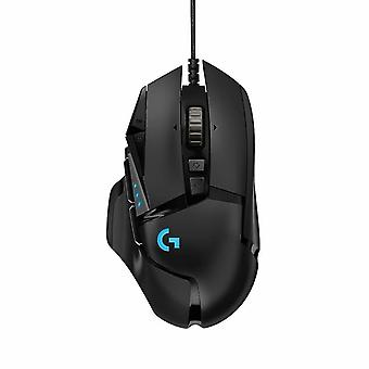 Mice trackballs g502 hero gaming mouse with hero sensor rgb mice  16'000 dpi  11 programmable buttons  laptop pc