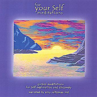 Amy M.D. Saltzman - For deg selv: Meditasjoner USA import