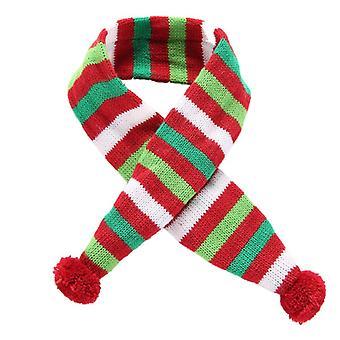 Christmas Pet Dog Scarf Bandana Knitted Neck Xmas Holiday Pet Costume Supplies