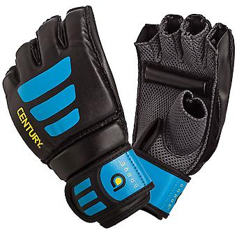 Century Brave Grip Bar MMA Transition Training Bag Gloves - Black/Blue