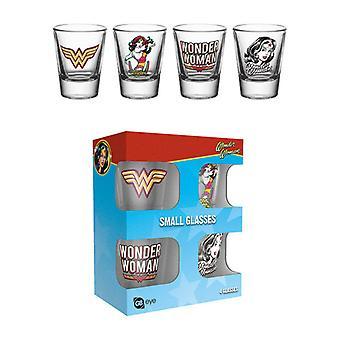 Wonder Woman 60 's Pop Shot glazen