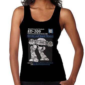 RoboCop ED209 Service And Repair Manual Women's Vest