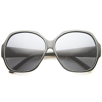 Women's High Fashion Wide Temple Oversize Square Sunglasses 58mm