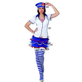 Vrouwen kostuums vrouwen Sailor vrouw kostuum