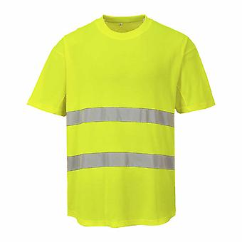 Portwest - HI-Vis Sicherheit Workwear Mesh T-shirt