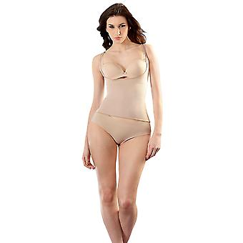 Esbelt ES5750 Women's Nude Firm/Medium Control Slimming Shaping Camisole Top