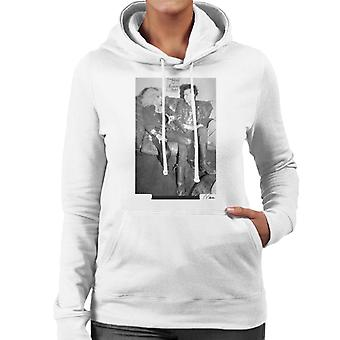 Sid Vicious And Nancy Spungen Hanging Out London 1978 Women's Hooded Sweatshirt