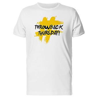 #Throwback 木曜日 t シャツ メンズ-シャッターによる画像