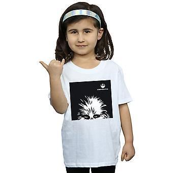 Star Wars ragazze Chewbacca Look t-shirt