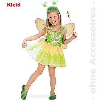 Fee Feenkleid Waldelfe Kinder Kostüm Blumenfee Tinkerbell Fairy Tail Kinderkostüm