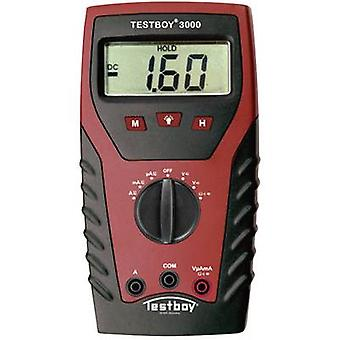 Testboy TB-3000 handheld multimeter digitale CAT IV 600 V display (tellingen): 2000