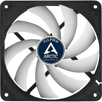 Arctic F12 PWM Rev. 2.0 PC fan Black, White (W x H x D) 120 x 120 x 25 mm
