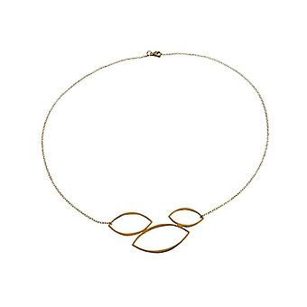 Necklace gold plated women Lady necklace silver gold