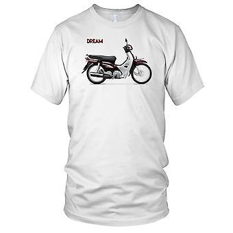 Honda Dream klassische Roller-Herren-T-Shirt