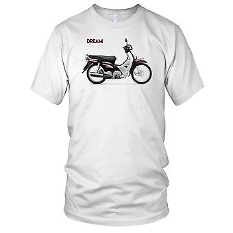 Honda Dream Classic Scooter Mens T Shirt