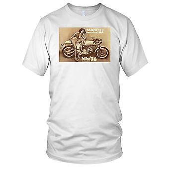 Team Benzina 11 Ducati Cassic motorsykkel Mens T-skjorte