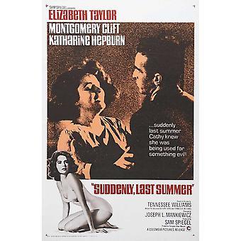 Suddenly Last Summer Movie Poster (11 x 17)