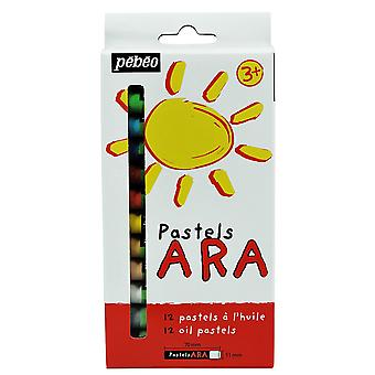 Pebeo Oil Pastels Set of 12 Colours