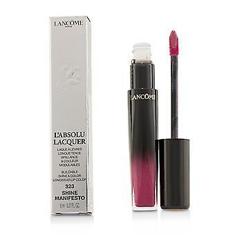 لانكوم L & absolu لاكور تألق قابل للبناء & لون لون الشفاه Longwear -- # 323 تألق البيان -- 8ml/0.27oz