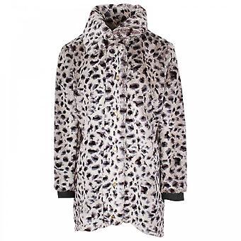 Tuzzi Faux Fur Leopard Print Jacket
