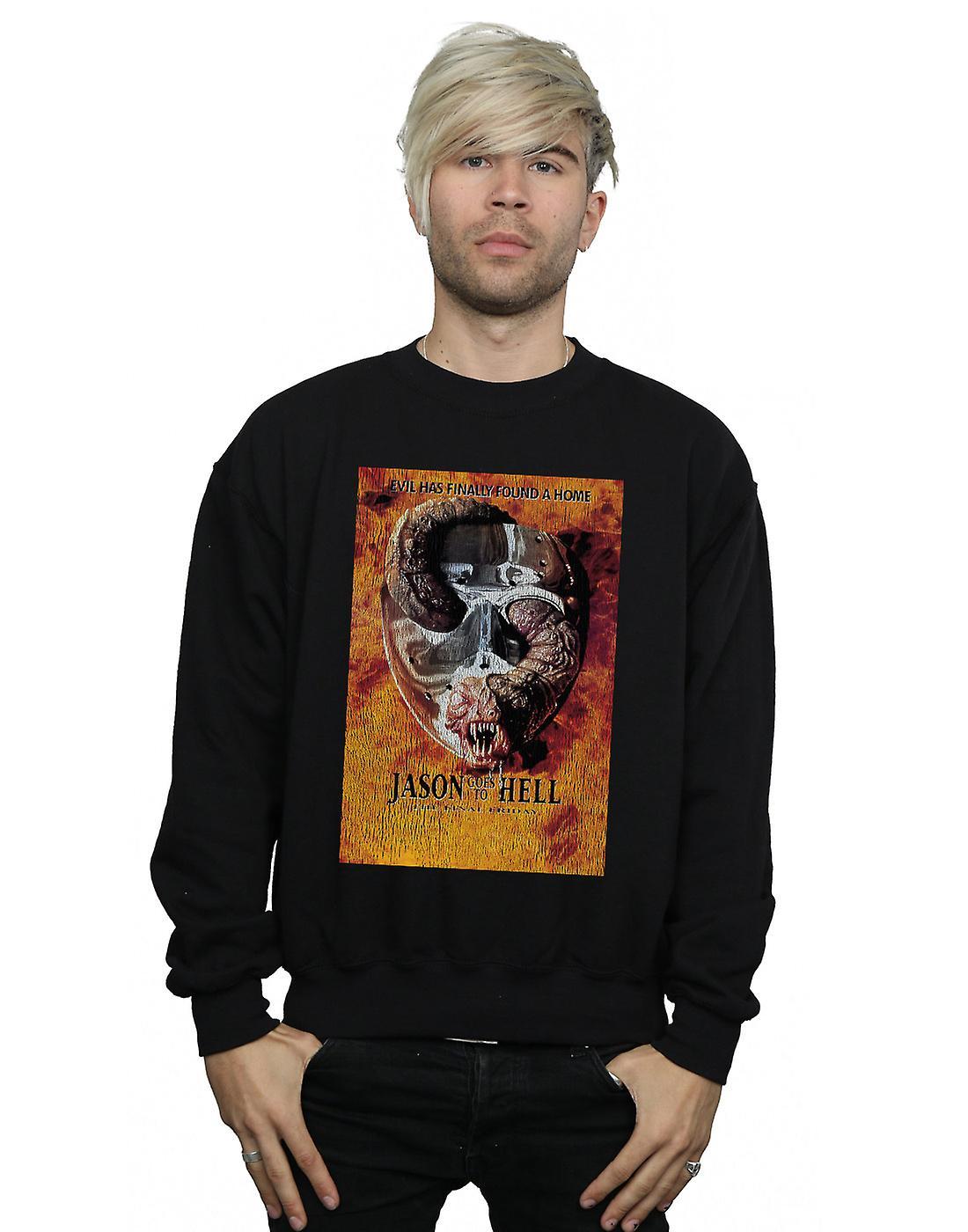 Friday The 13th Men's Jason Goes To Hell Sweatshirt