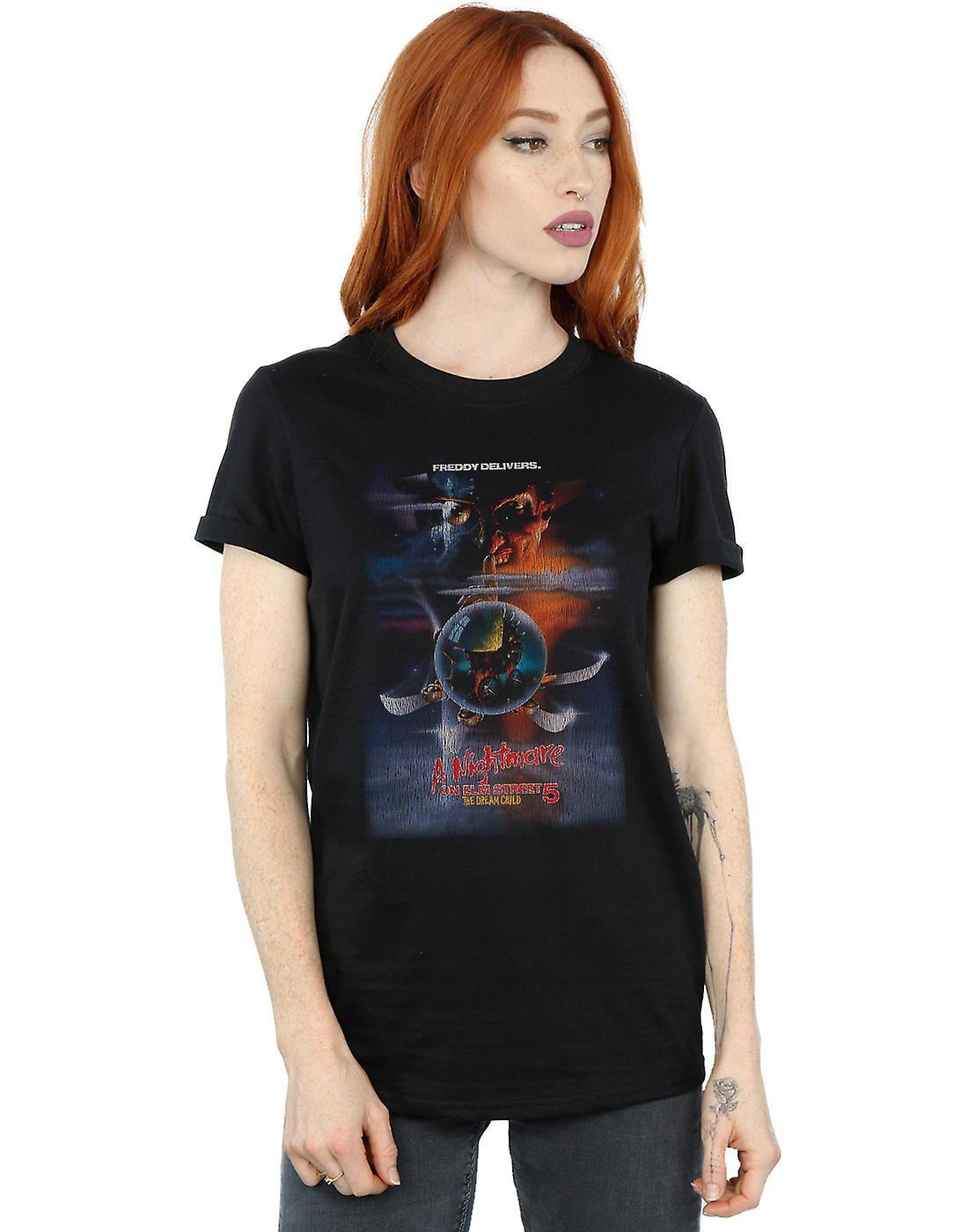 A Nightmare On Elm Street Women's The Dream Child Boyfriend Fit T-Shirt