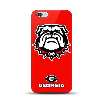 5 pack-Mizco Sports NCAA oversized SnapBack TPU Case voor Apple iPhone 6 plus/6S plus (Universiteit van Georgië)