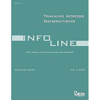 التدريب عبر الأجيال من كيم أ رو-كتاب 9781562865313