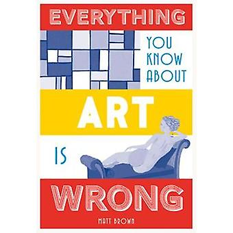 Everything You Know About Art is Wrong by Matt Brown - 9781849944298