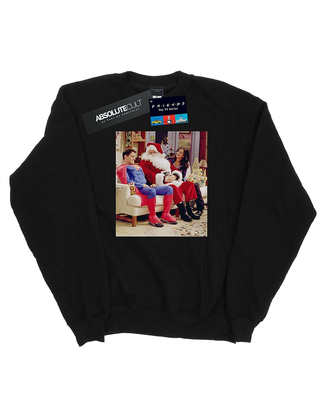 Friends Women's Couch Santa Sweatshirt