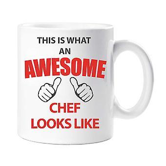 Esto es lo que un Chef increíble taza