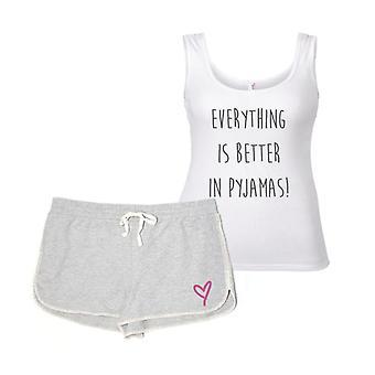 Totul este mai bine în Pyjamas Pyjama set