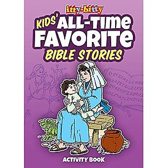 Kids' All-Time Favorite Bible Stories: Itty-Bitty Bible Activity Book (Itty-Bitty Bible Activity Books)