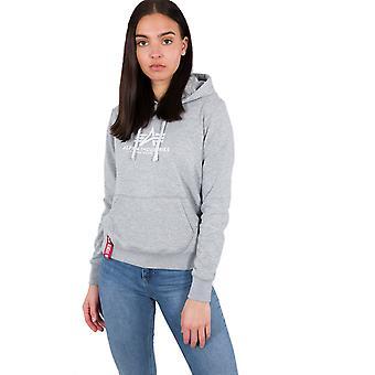 Nouvelle base Hooded Sweatshirt Alpha industries femmes