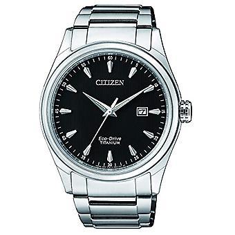 Citizen Solar Classic Analog man with titanium bracelet BM7360-82E
