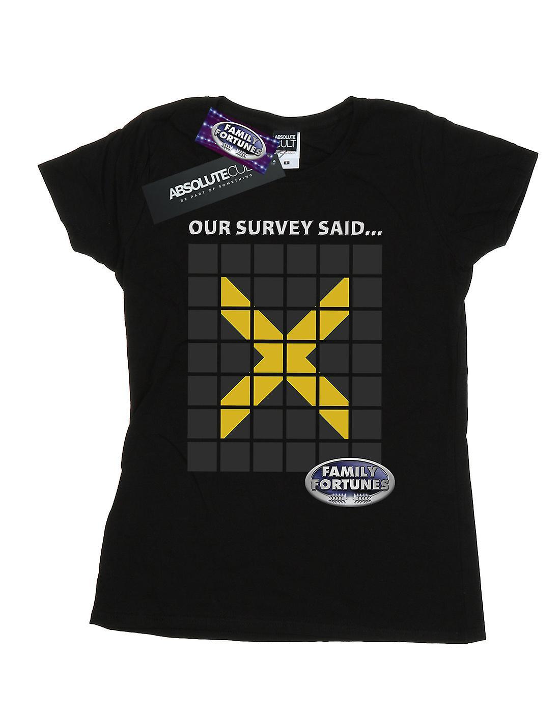 Family Fortunes Women's Our Survey Said T-Shirt