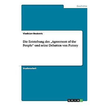 Die Entstehung des acuerdo del pueblo und seine Debatten von Putney por Vladislav & Boskovic
