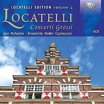 Ensemble Violini Capricciosi / Ruhadze, Igor - Locatelli: Concerti Grossi [CD] USA import