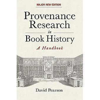 Recherche de provenance dans l'histoire du livre: un manuel