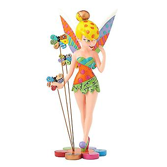 Disney Britto tinker bell på blomst figur