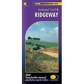 Ridgeway XT40 by Harvey Map Services Ltd. - 9781851374786 Book