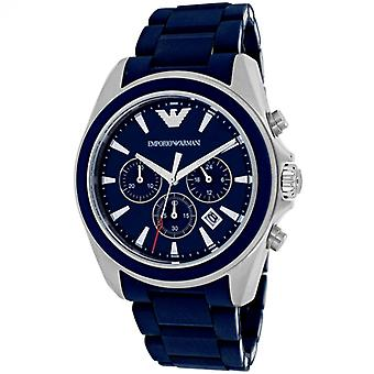 Emporio Armani Ar6068 Sportivo Blue Dial Men's Watch