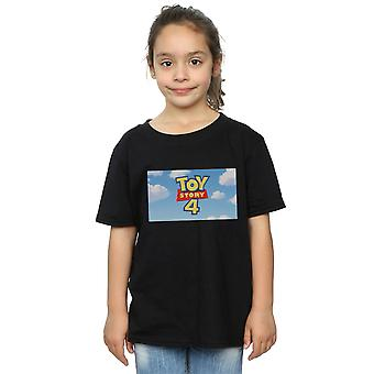 Disney jenter Toy Story 4 Cloud logo T-skjorte