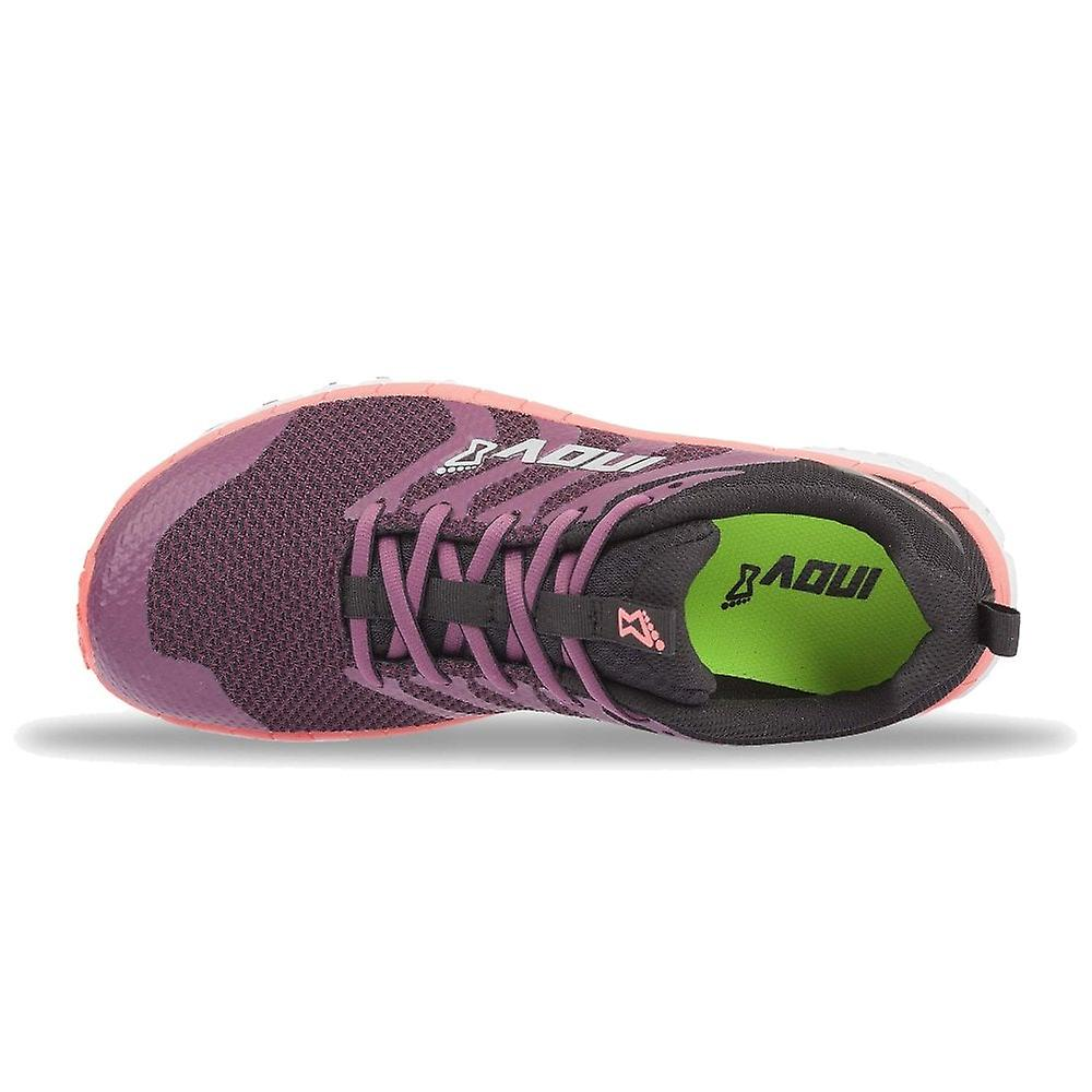 Inov8 Parkclaw 275 Knit Womens Wider Fitting Cushioned Trail Running Shoes Purple