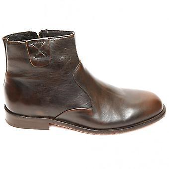 H By Hudson Man Haxton Chelsea Boot, Black